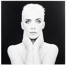 Edward MAPPLETHORPE (Né en 1959) Annie Lennox - 1989 Tirage argentique d'époque
