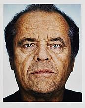 MARTIN SCHOELLER (Né en 1968) Jack Nicholson - 2002 Tirage argentique couleur