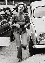 Michel GINIES (Né en 1952) Brigitte Bardot, Bois de Boulogne - 1975 Tirage argentique