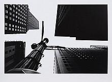 William KLEIN (Né en 1929) Wall Street from under, New York, 1955 Tirage argentique postérieur