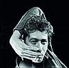Antoine LE GRAND (Né en 1956) Alain Bashung TIrage baryté sur papier Ilford?????