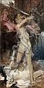 Gabriel Ferrier Nîmes, 1847 - Paris, 1914 Persée tuant Méduse Huile sur toile, Gabriel (1847) Ferrier, Click for value