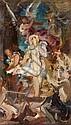 Gabriel Ferrier Nîmes, 1847 - Paris, 1914 Esquisse pour 'Sainte Agnès martyre' Huile sur papier marouflé sur toile, Gabriel (1847) Ferrier, Click for value