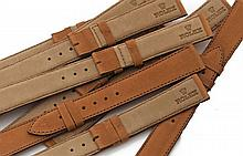 ROLEX Un lot de 100 bracelets cuir Rolex. SET OF 100 ROLEX LEATHER STRAP
