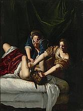 Attribué à Artemisia Gentileschi Rome, 1593 - Naples, vers 1652 Judith et Holopherne Cuivre