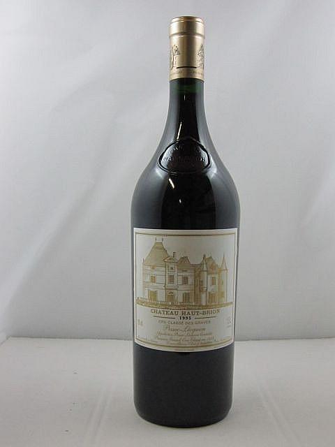 1 magnum CHÂTEAU HAUT BRION 1995 1er GC Pessac Léognan Caisse bois d'origine