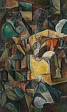 Albert GLEIZES (Paris, 1881- Avignon, 1953) MOISSONNEURS OU