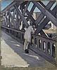 Gustave CAILLEBOTTE (Paris, 1848-Gennevilliers, 1894) LE PONT DE L'EUROPE, 1876 Huile sur toile