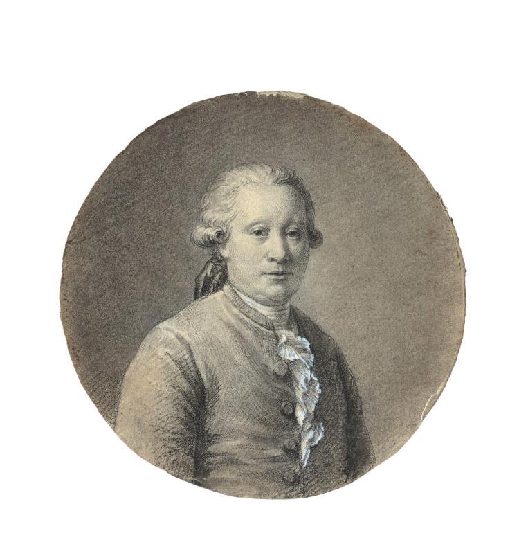 François Pascal Simon, baron Gérard Rome, 1770 - Paris, 1837 Portrait de Jean Simon Gérard et Portrait de Claire Mattéi, parents de...