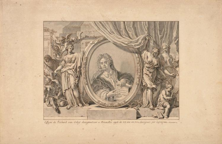 """Richard van Orley Bruxelles, 1663 - 1732 """" Les aventures de Télémaque, fils d'Ulysse """", d'après l'ouvrage de Fénelon Suite de 85 des"""