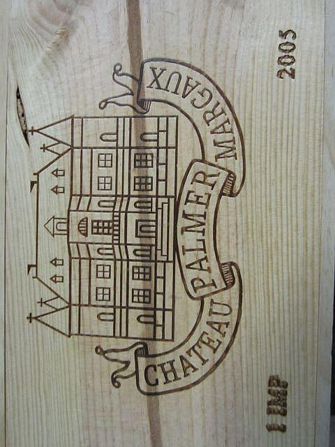 1 impériale CHÂTEAU PALMER 2005 3è GC Margaux Caisse bois d'origine