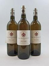 12 bouteillles CLOS MARSALETTE 1998 (blanc) Pessac Léognan