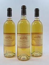 6 bouteillles LES HAUTS DE RICAUD 1997 Loupiac