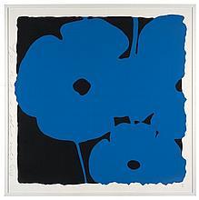 Donald SULTAN Né en 1957 BIG BLUE SEPT 10 - 2014