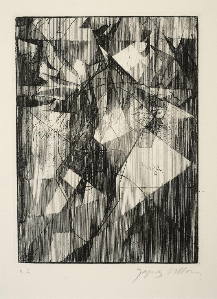 Jacques VILLON (1875- 1963) Le petit équilibriste - 1914