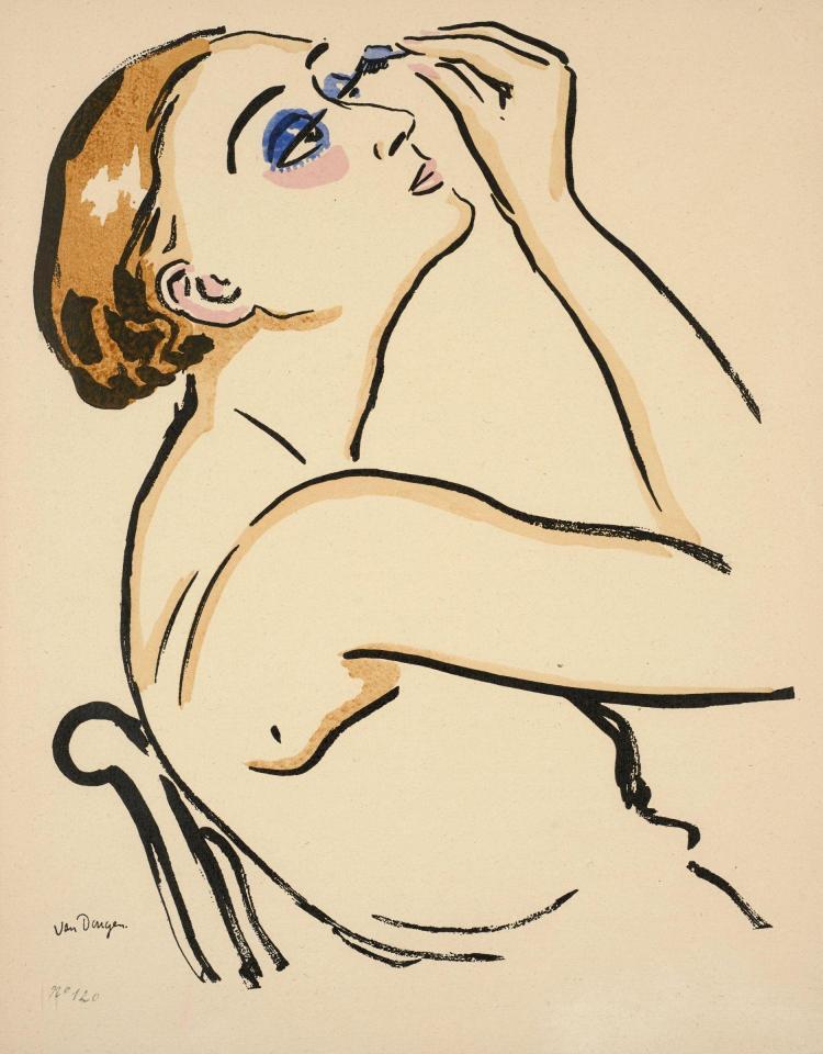 Kees VAN DONGEN (1877 - 1968) Rimmel - 1920