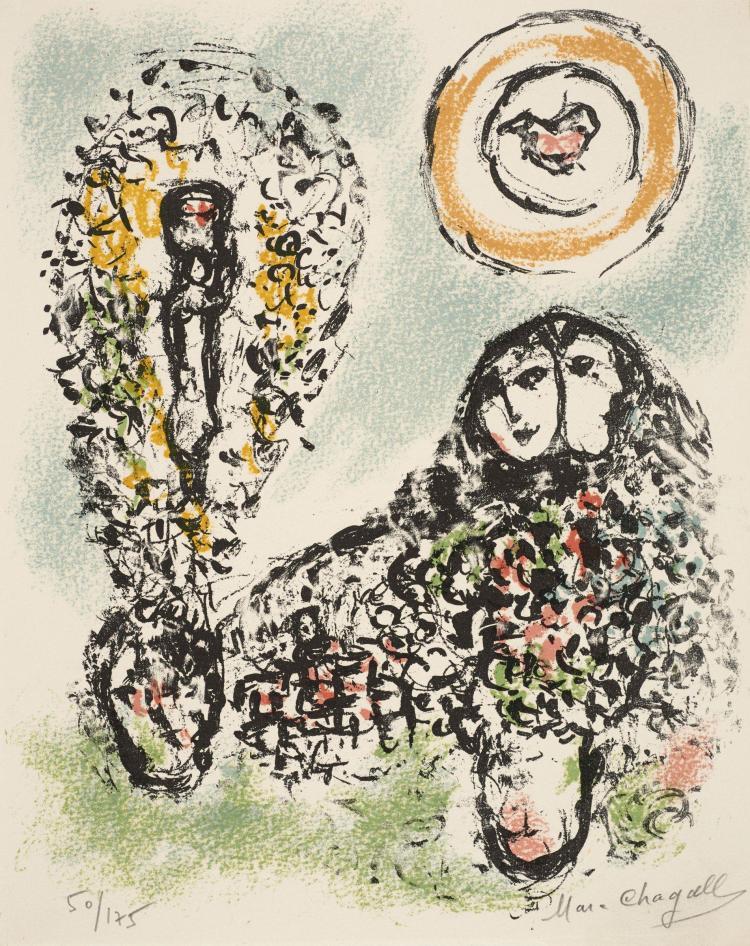 Marc CHAGALL 1887-1985 Elsa TRIOLET
