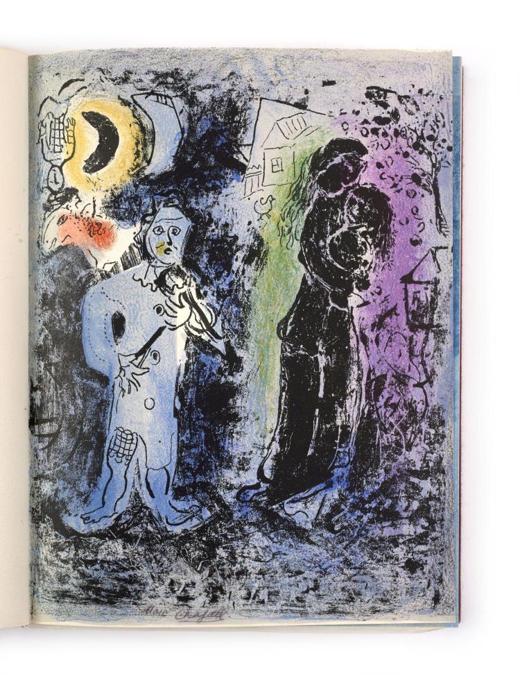 Marc CHAGALL 1887-1985 Julien CAIN