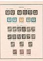 Timbres-taxe - Ensemble de timbres-taxe, depuis les premières émissions  de 1859. B et TB.