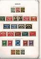 Principauté de Monaco - Collection de timbres-poste à partir des années 1920, contenue dans un album Yvert & Tellier.