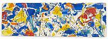 Sam FRANCIS (1923-1994) SANS TITRE, 1959 Gouache sur papier