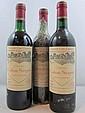 6 bouteilles CHÂTEAU CALON SEGUR 1988 3è GC Saint Estèphe (1 haute épaule