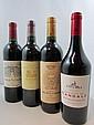 11 bouteilles 2 bts : CHÂTEAU LA LAGUNE 2003 3è GC Haut Médoc 3 bts : CHÂTEAU LA LAGUNE 2003 4è GC Haut Médoc (Etiquettes abimées)...
