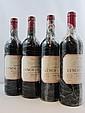 6 bouteilles 1 bt : CHÂTEAU LYNCH BAGES 1995 5è GC Pauillac