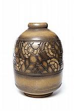 Maurice GENSOLI & SÈVRES (Manufacture Nationale de)  Grand vase