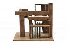 TRAVAIL FRANÇAIS 1925  Maquette de projet architectural