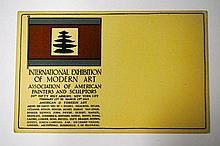 [ARMORY SHOW]  Carte postale 1913
