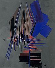 Huguette Arthur BERTRAND (1922 - 2005) SANS TITRE - 1957 Gouache sur papier
