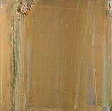 Olivier DEBRE (1920 - 1999) JAUNE D'AUTOMNE - 1978 Huile sur toile