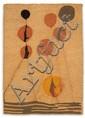 D'après Alexander CALDER (Lawnton, 1898- New York, 1976) TAPIS # 15, 1974 Fibre coco