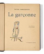 Kees van DONGEN et Victor MARGUERITE  LA GARCONNE