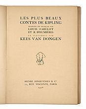 Kees van DONGEN et Rudyard KIPLING  LES PLUS BEAUX CONTES DE KIPLING
