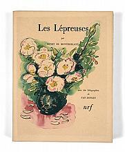 Kees van DONGEN et Henry de MONTHERLANT  LES LEPREUSES