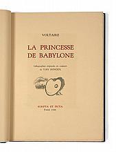 Kees van DONGEN et VOLTAIRE  LA PRINCESSE DE BABYLONE