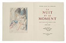 Louis ICART et Prosper Jolyot de CREBILLON  LA NUIT ET LE MOMENT
