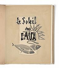 Georges BRAQUE et René CHAR  LE SOLEIL DES EAUX