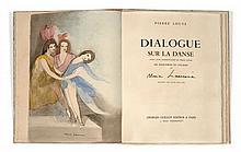 Marie LAURENCIN et Pierre LOUYS  DIALOGUE SUR LA DANSE