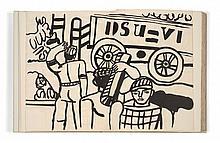 D'après Fernand LEGER (Argentan, 1881 - 1955) MES VOYAGES