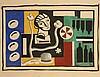 Fernand LEGER (Argentan, 1881 - 1955) CONTRASTES
