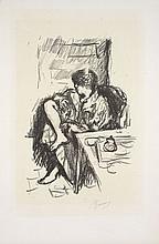 ¤ Pierre BONNARD (Fontenay-aux-roses, 1867 - 1947) LA TOILETTE ASSISE, 1925