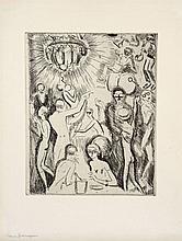 Kees VAN DONGEN (Delfshaven, 1877 - Monaco, 1968) BOITE DE NUIT, 1927