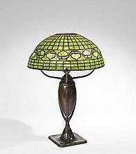 TIFFANY STUDIOS NEW YORK	  LAMPE DE TABLE