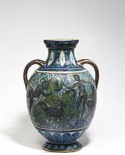 André METTHEY 1871 - 1920 VASE A CORPS OVOÏDE