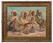Edouard VERSCHAFFELT 1874-1955 ALLAHOU AKBAR Huile sur toile