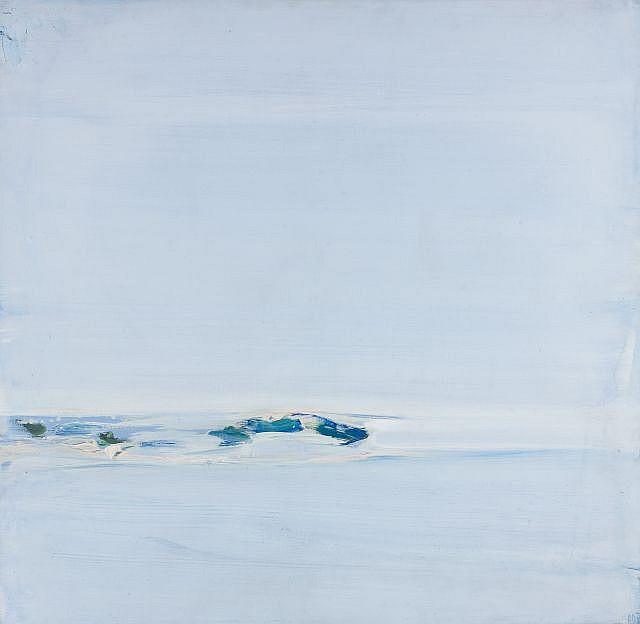 Olivier DEBRE (1920-1999) TALMONT, 1973 Huile sur toile