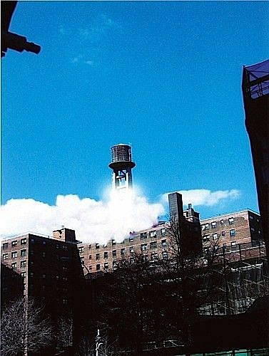 Gilles BARBIER (né en 1965) THE GREAT DEPARTURE, (WATER TOWER 4), 2006 Cibachrome print